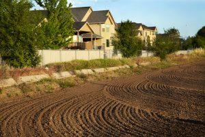 New suburban development in rural farm setting is illuminates zoning and development issues.